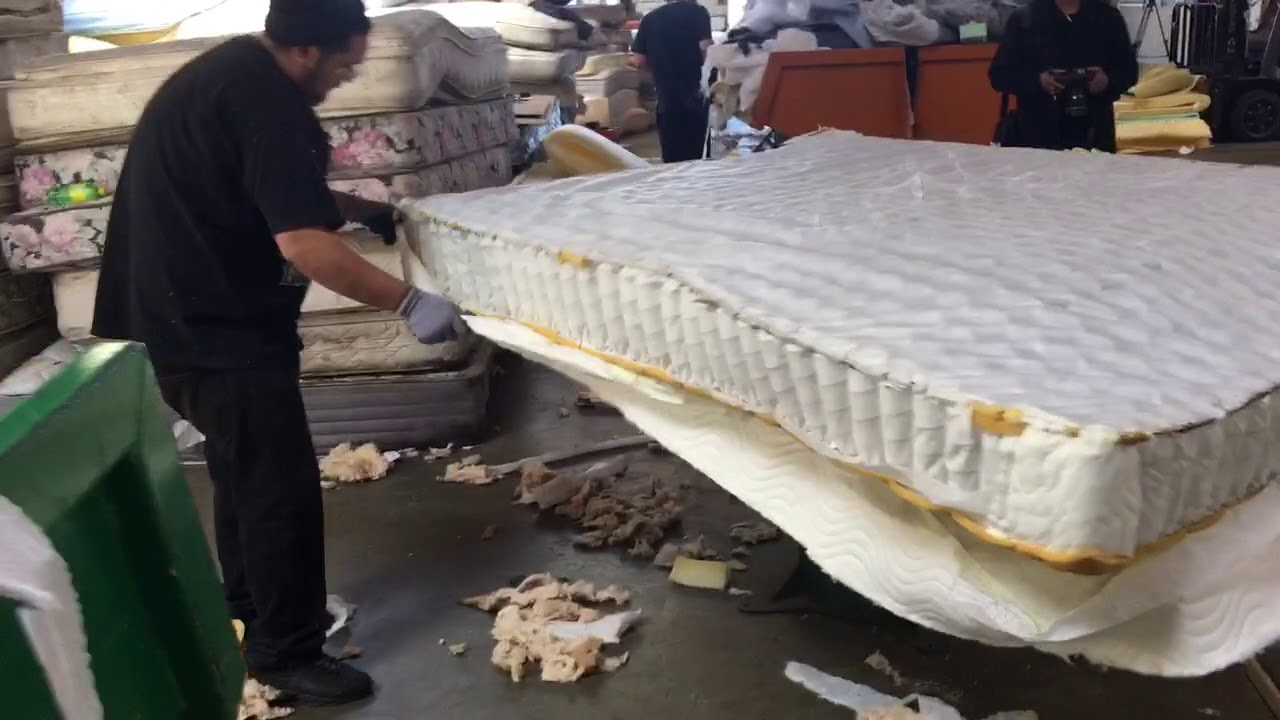 Mattress Disposal Services
